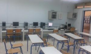 Εργαστήριο πληροφορικής Λύκειο Διακοπτού